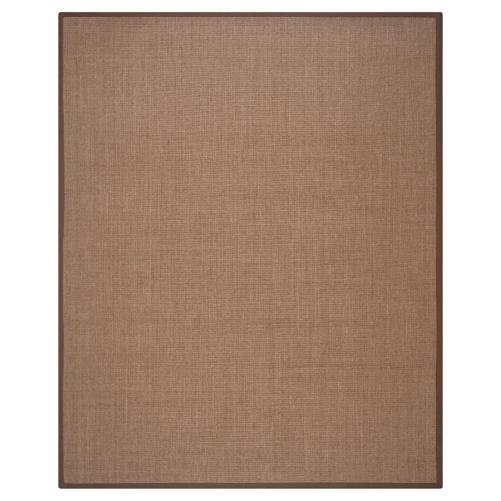 Klara Natural Fiber Area Rug - Brown (8' X 10') - Safavieh