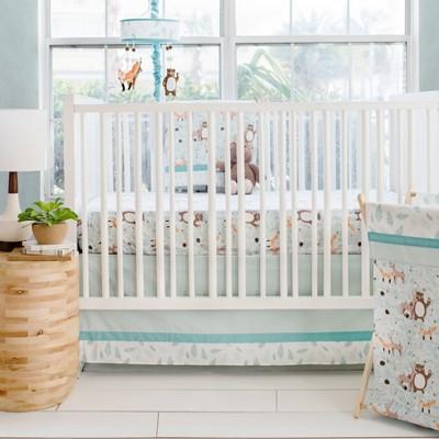 Crib Bedding Set My Baby Sam Aqua