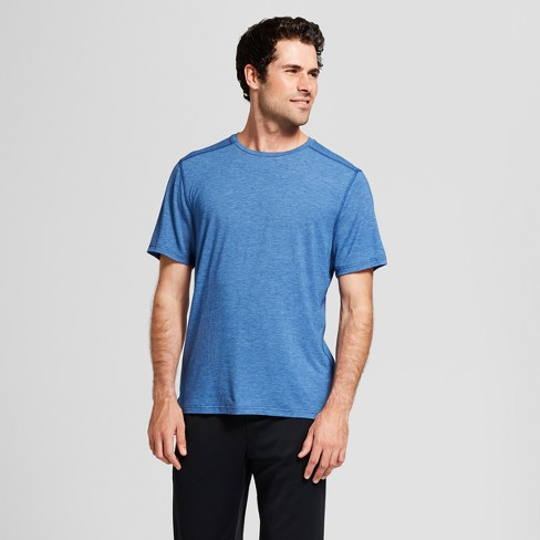 Men's Soft Touch Training T-Shirt - C9 Champion® Winter River Teal Heather XL - image 1 of 2