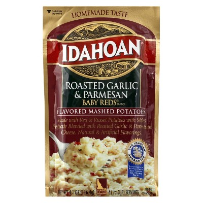 Potatoes & Stuffing: Idahoan Baby Reds Mashed Potatoes