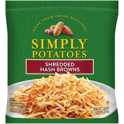 Simply Potatoes Gluten Free Shredded Hash Browns - 20oz - image 1 of 4