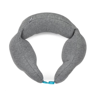 Travel Smart Snap Closure Neck Rest Travel Pillow