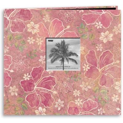 """Pioneer Tropical Post Bound Album 12""""X12""""-Hibiscus"""
