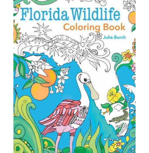 Florida Wildlife Coloring Book (Paperback) - image 1 of 1