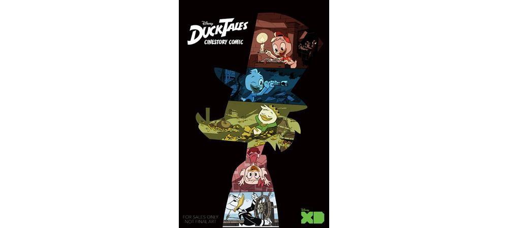 Disney Ducktales Cinestory Comic : Woo-oo (Paperback)
