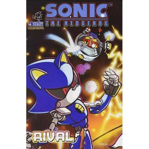 Sega Sonic The Hedgehog Part 2 of 2 Rival Comic Book - image 1 of 1