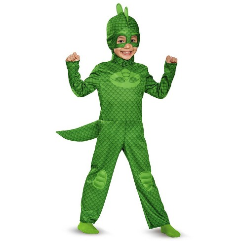 Kids' PJ Masks Gekko Halloween Costume - image 1 of 1