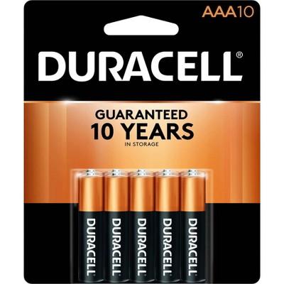Duracell CopperTop AAA Alkaline Batteries - 10ct