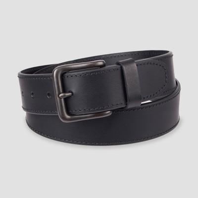 Men's 38mm Bevel Edge Belt - Goodfellow & Co™ Black 2XL
