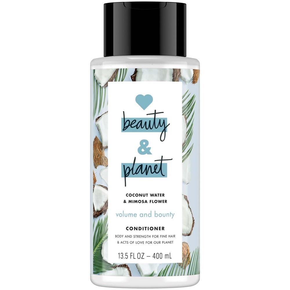 Love Beauty & Planet Coconut Water & Mimosa Flower Volume & Bounty Conditioner - 13.5 fl oz