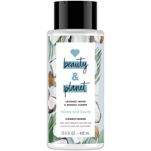 Love Beauty & Planet Coconut Water & Mimosa Flower Volume & Bounty Conditioner - 13.5 fl oz - image 1 of 4