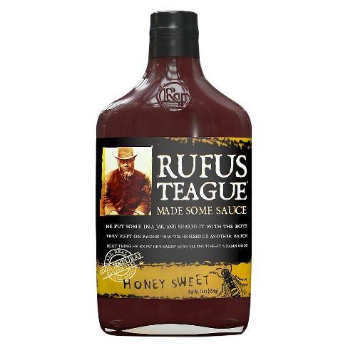 Rufus Teague Honey Sweet BBQ Sauce - 16oz - image 1 of 1