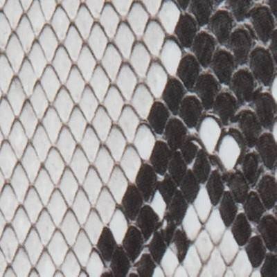 Black/White Snakeskin