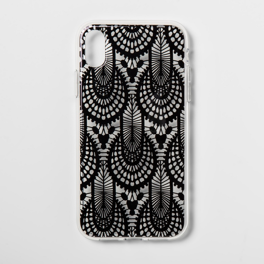 heyday Apple iPhone XR Case - Black Lace