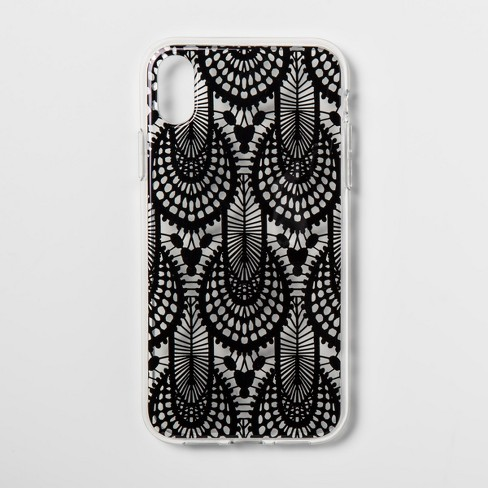 innovative design a18e7 3bd06 heyday™ Apple iPhone XR Printed Lace Case