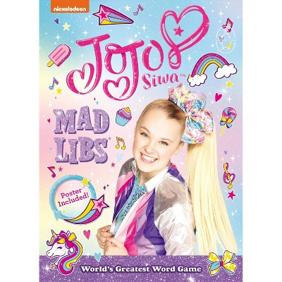 JoJo Siwa Mad Libs - by Carrie Cray (Hardcover)