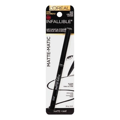 Eyeliner & Brow Pencils: L'Oreal Paris Infallible Matte-Matic Mechanical Eyeliner