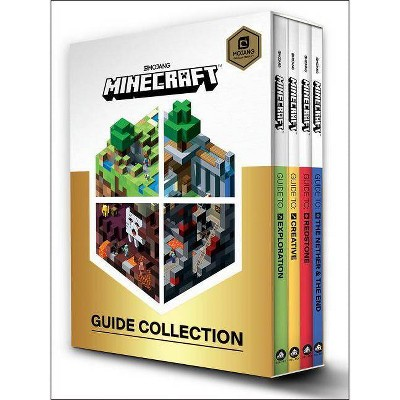 Minecraft: Guide Collection 4-Book Boxed Set - (Mixed Media Product)