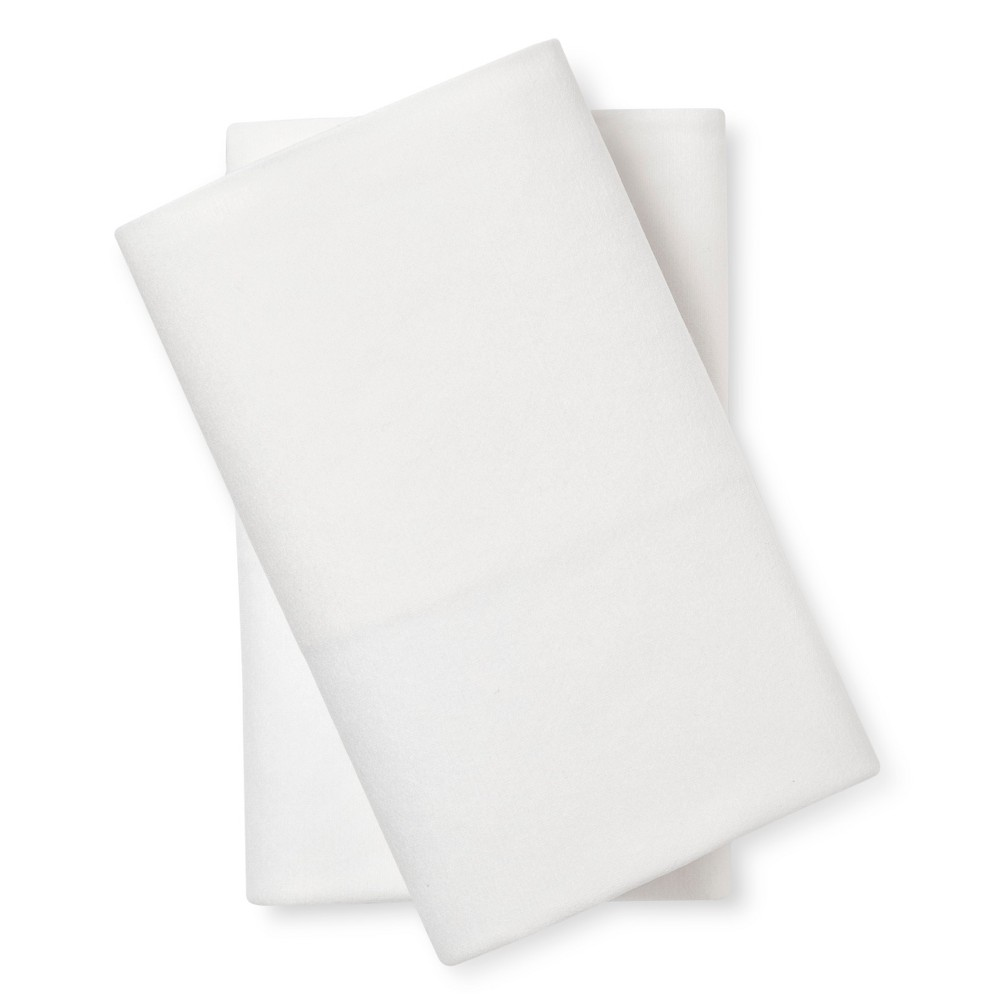 Image of Laundry-Free Pillowcase Set (Standard) 2pc White - Beantown Bedding