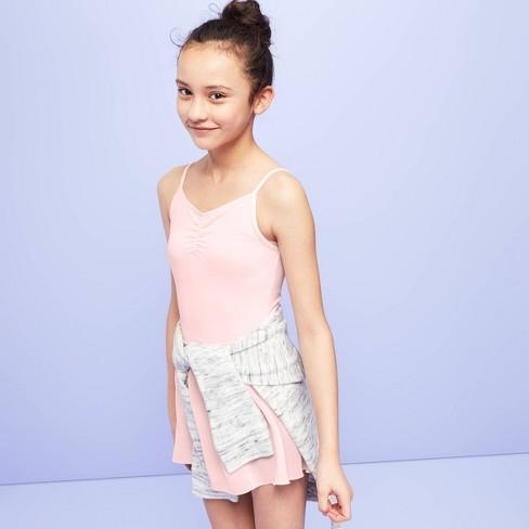 Girls' Dancewear Cami Leotard - More than Magic™ Pink - image 1 of 3