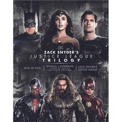 Zack Snyder's Justice League Trilogy (4K/UHD)(2021)
