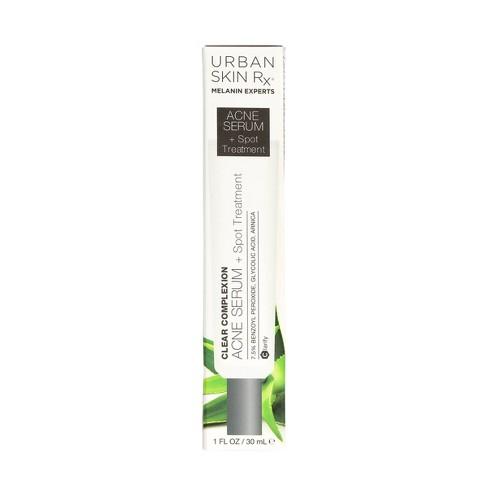 Urban Skin Rx Clear Complexion Acne Serum And Spot Treatment 1 Fl Oz Target