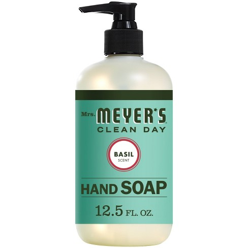 Mrs. Meyer's Basil Scent Liquid Hand Soap - 12.5 fl oz - image 1 of 4