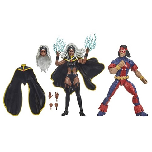 Hasbro Marvel X-Men Series Storm and Marvel's Thunderbird - image 1 of 4