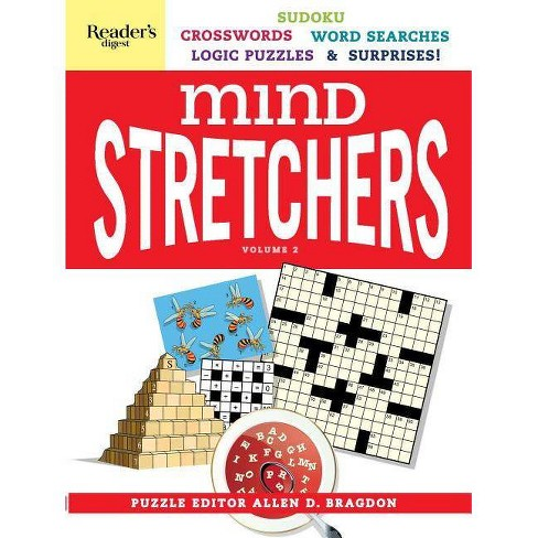 Reader's Digest Mind Stretchers Puzzle Book Vol.2, Volume 2 - (Mind Stretcher's) by  Allen D Bragdon (Spiral Bound) - image 1 of 1
