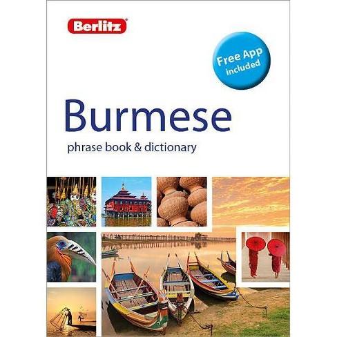 Berlitz Phrase Book & Dictionary Burmese(bilingual Dictionary) - (Berlitz Phrasebooks) 2 Edition - image 1 of 1