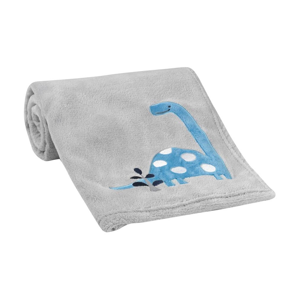 Image of Bedtime Originals Roar Blanket - Gray
