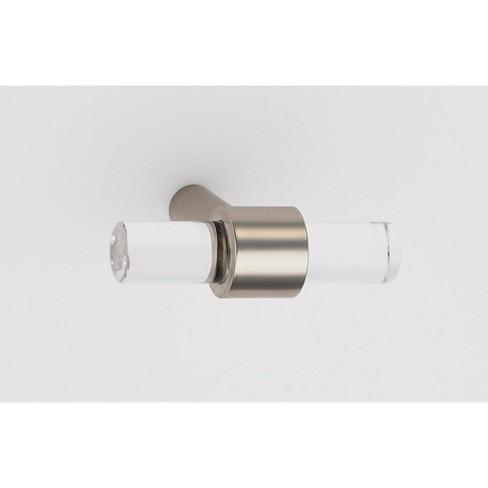 "Alno A860-45 Contemporary Acrylic 1-3/4"" Bar Cabinet Knob - image 1 of 1"