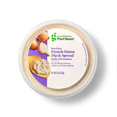 French Onion Cashew Plant Based Dip + Spread - 8oz - Good & Gather™