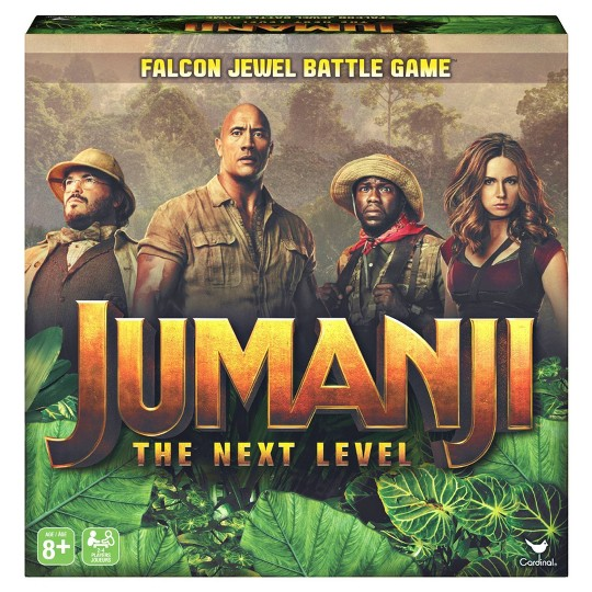 Jumanji: The Next Level Falcon Jewel Battle Board Game image number null