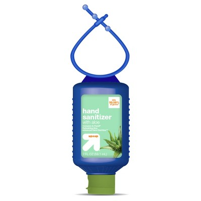 Hand Sanitizer Gel with Aloe (Compare to Purell Refreshing Aloe Advanced Hand Sanitizer)- 2 fl oz Travel Size - Up&Up™