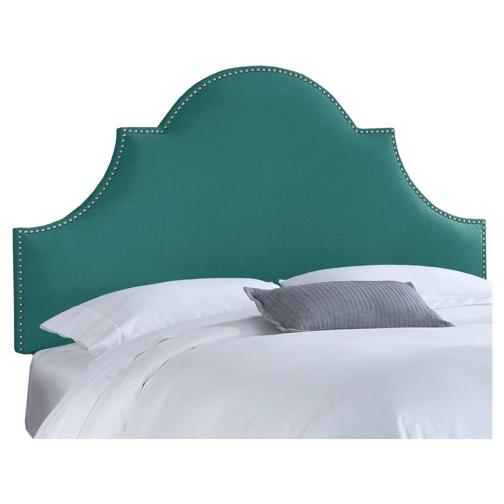 Chambers Headboard - Linen Laguna (King) - Skyline Furniture