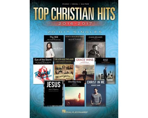 Top Christian Hits 2016 2017 20 Hit Singles Piano Vocal