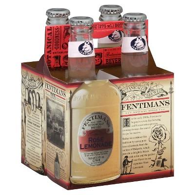 Fentimans Rose Lemonade - 4pk/9.3 fl oz Glass Bottles
