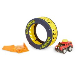Little Tikes Slammin' Racers Turbo Tire Playset and Vehicle with Sounds