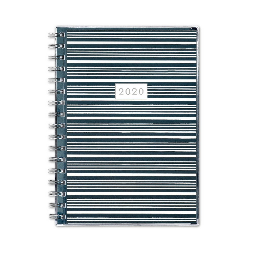 "Image of ""2020 Planner 5.875""""x 8.625"""" Floriana - Blue Sky, Green"""