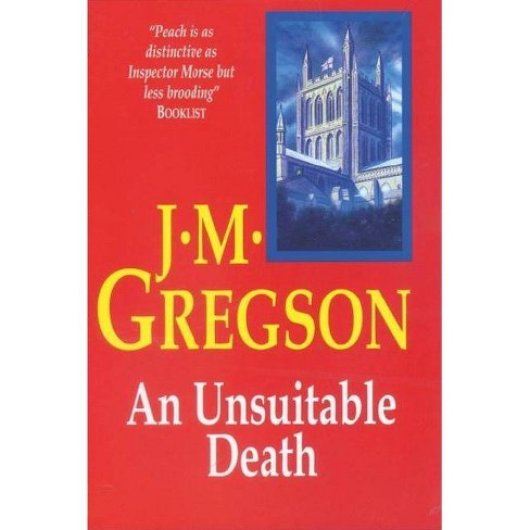 An Unsuitable Death - (Severn House Large Print) by  J M Gregson (Hardcover) - image 1 of 1