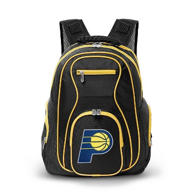 NBA Indiana Pacers Colored Trim Laptop Backpack