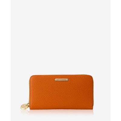 GiGi New York Orange Large Zip Wallet