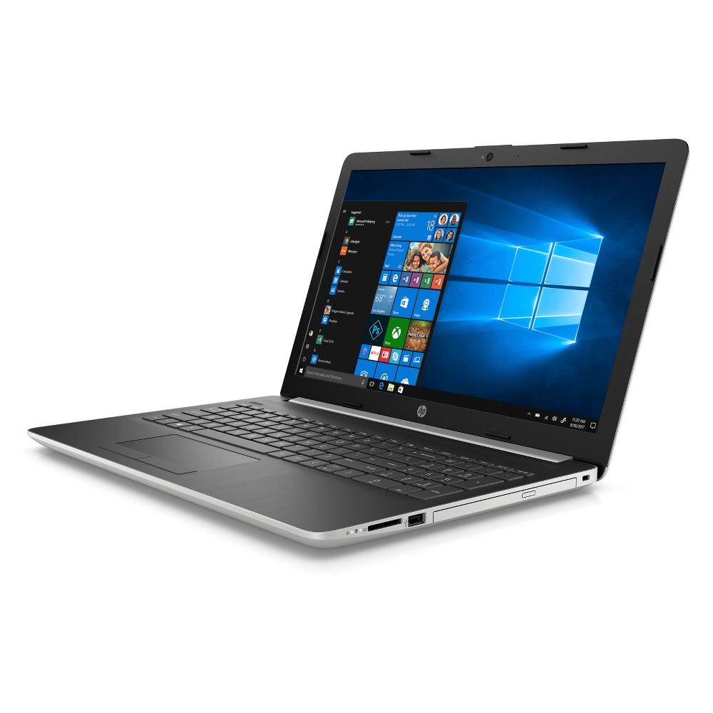 HP 15.6 Laptop with Windows 10 Trial, Dvd Player/Writer, Bluetooth/Hdmi/Ethernet - 1TB Storage (15-db0031nr) - Silver