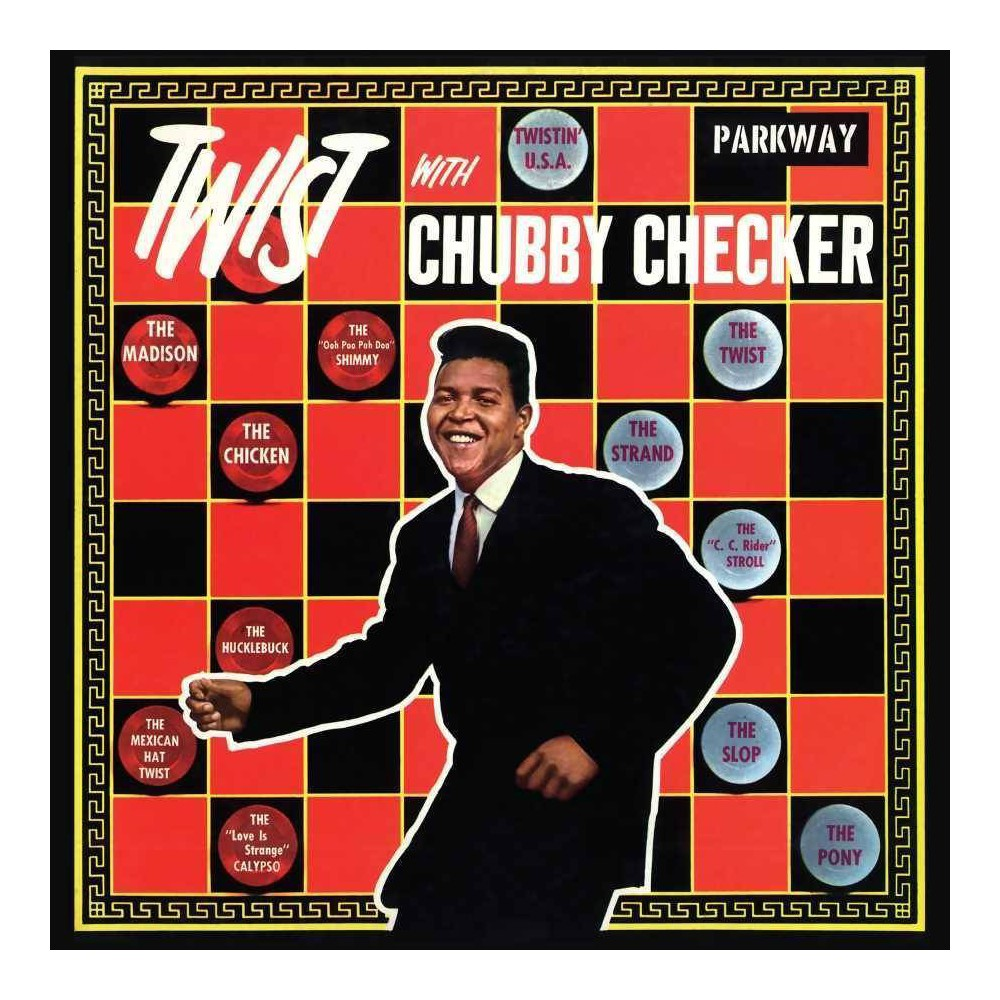 Chubby Checker Twist With Chubby Checker Lp Remastered Vinyl