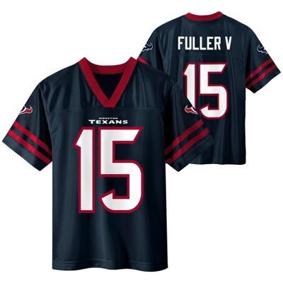 NFL Houston Texans Boys' Will Fuller Short Sleeve Jersey