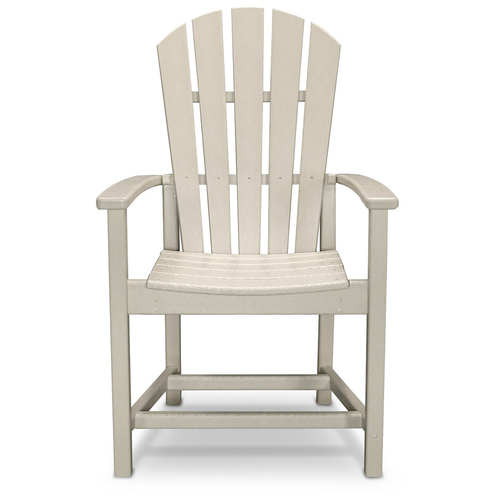 Polywood St Croix Adirondack Dining Chair- Sand (Brown)