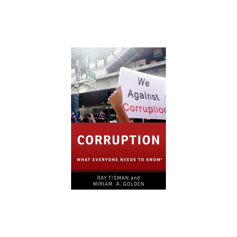 Corruption (Paperback) (Ray Fisman & Miriam A. Golden)