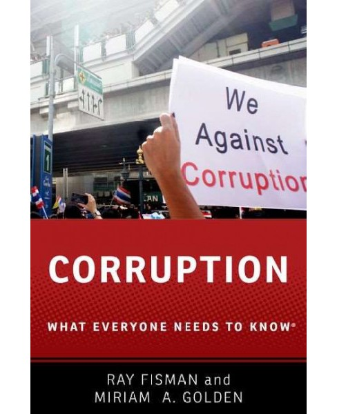 Corruption (Paperback) (Ray Fisman & Miriam A. Golden) - image 1 of 1