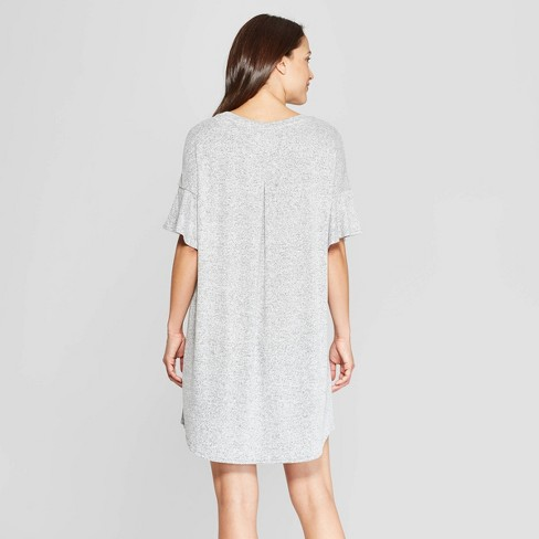 Women s Perfectly Cozy Nightgown - Stars Above™ Gray   Target 2af1d608c